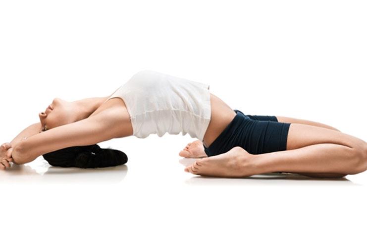 Supta Virasana Yoga