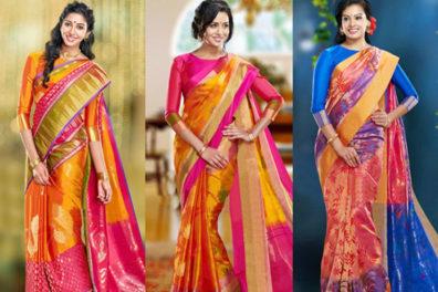 Beautiful Uppada Pattu Sarees Designs And Style