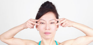 Yoga exercises for puffy eyes