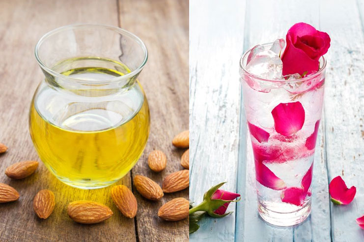 Rose Water And Almond Oil