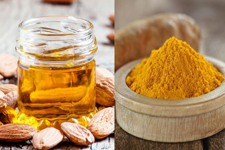 Almond Oil And Turmeric