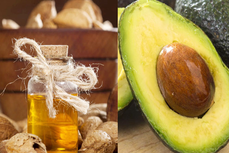 Almond Oil and Avocado