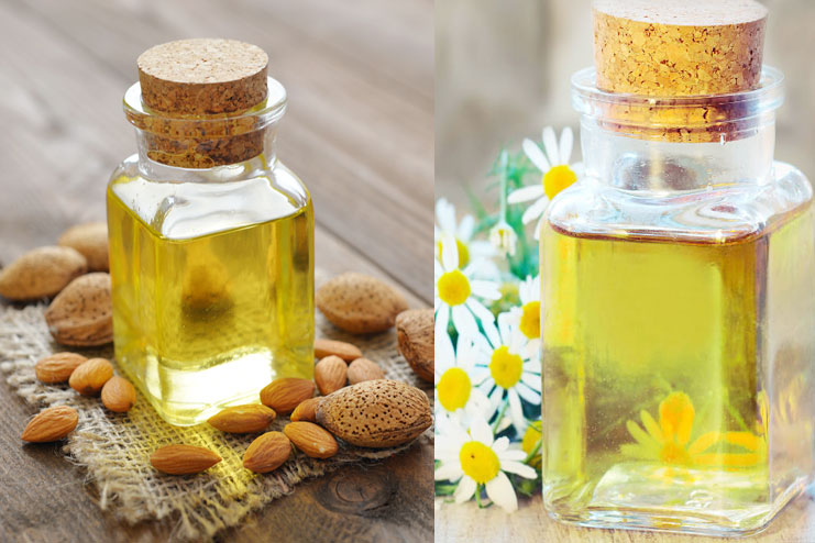Almond Oil with Chamomile Essential Oil
