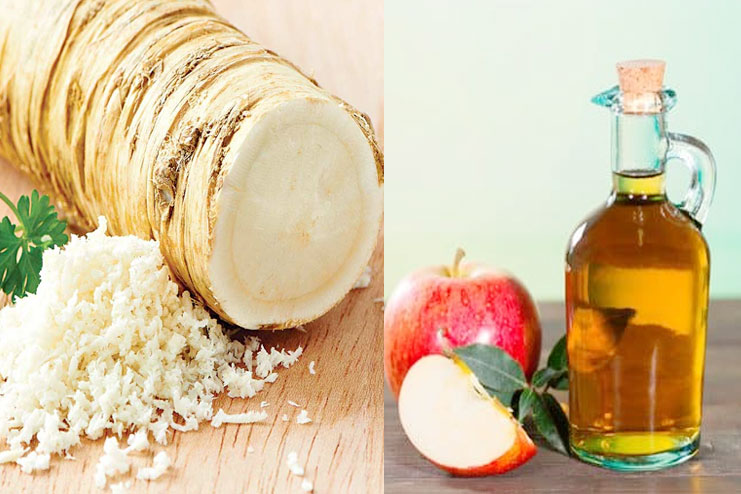 Apple Cider Vinegar with Horseradish