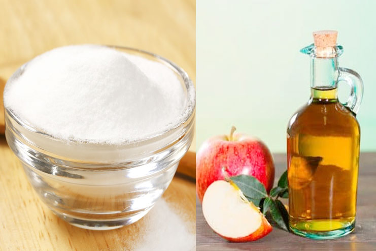 pple Cider Vinegar with Baking Soda