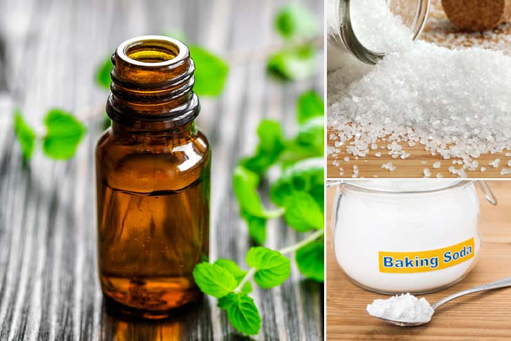 Baking Soda, Epsom Salt And Essential Oils