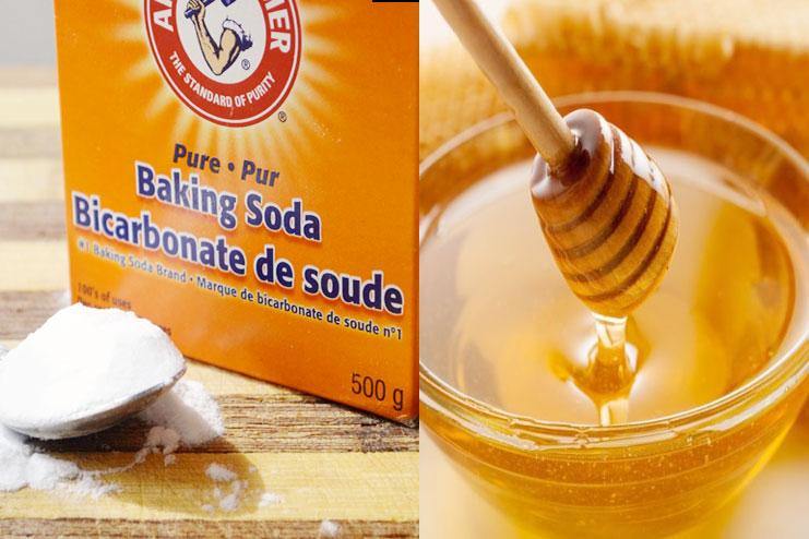 Baking Soda With Honey