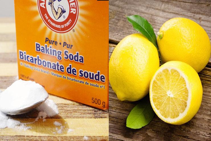 Baking Soda With Lemon