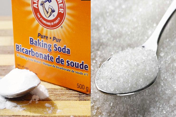 Baking Soda With Sugar