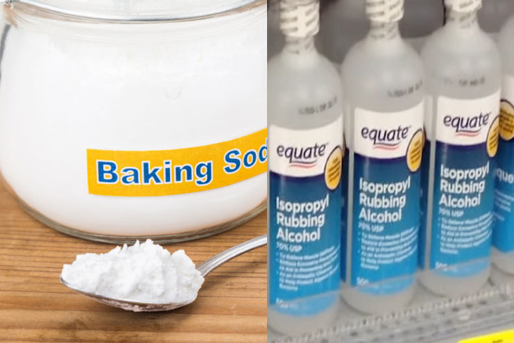 Baking Soda With Rubbing Alcohol