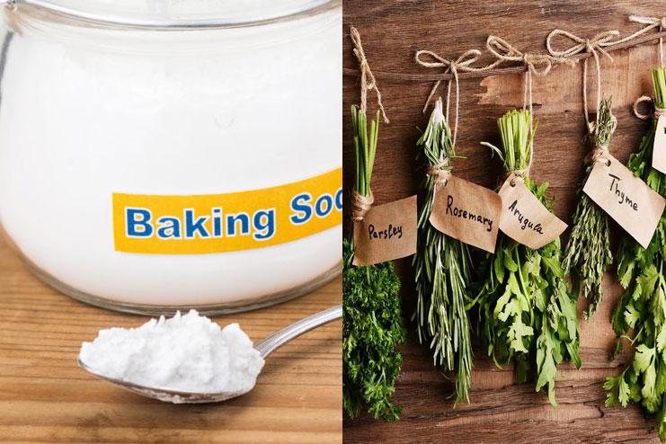 Baking Soda With Herbs