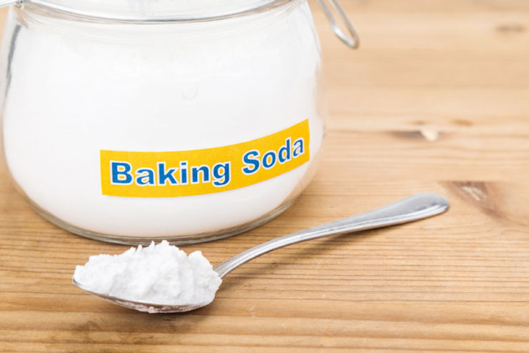 Baking Soda With Distilled Water