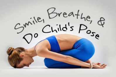 Rejuvenates Your Body With Child's Pose or Balasana