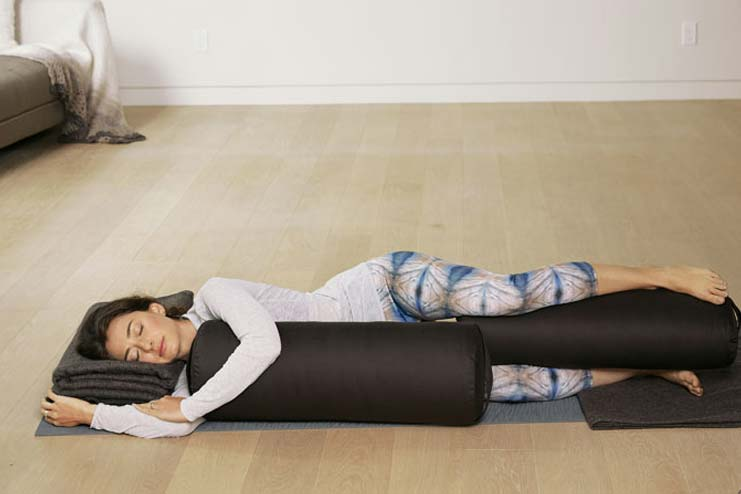 Side-Lying Corpse Pose