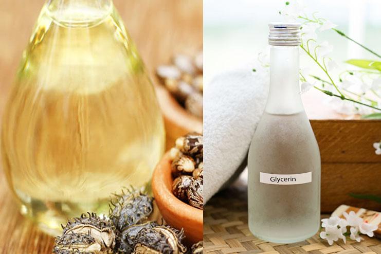 castor oil and glycerin