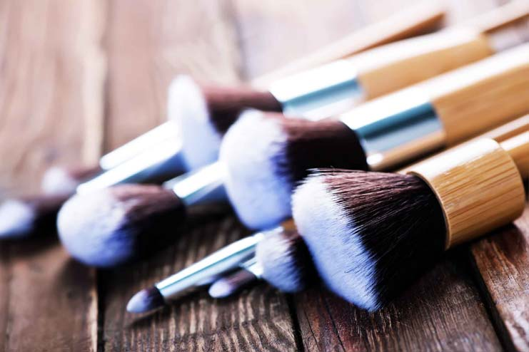 how to clean makeup brushes pinterest