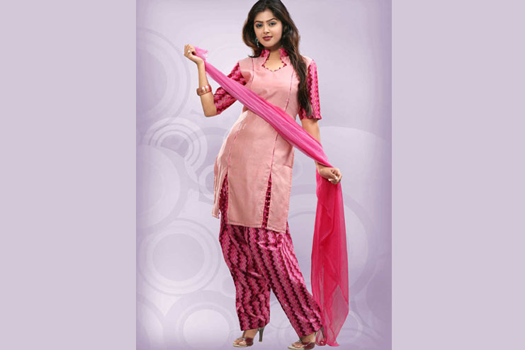 Printed Parallel Salwar