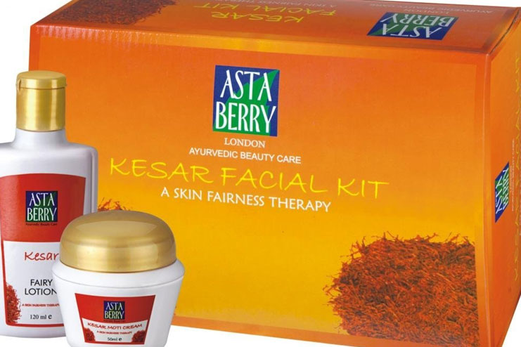 Astaberry Kesar Facial Kit