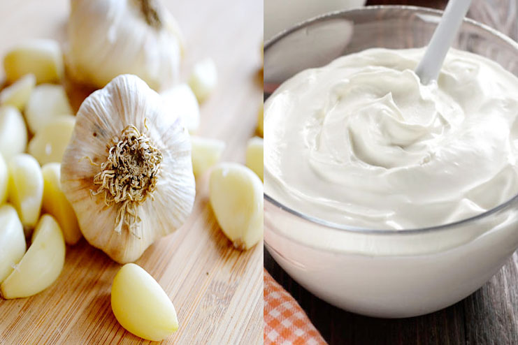 Garlic With Yogurt