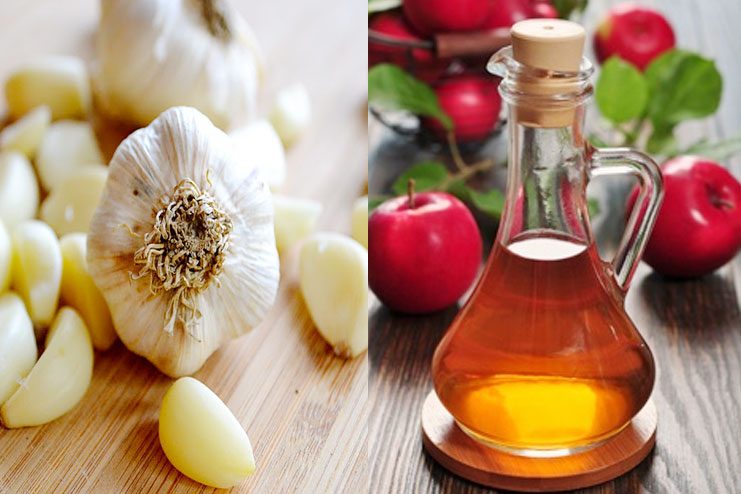 Garlic With Vinegar