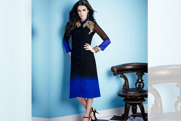 Ombre Shaded Kurti