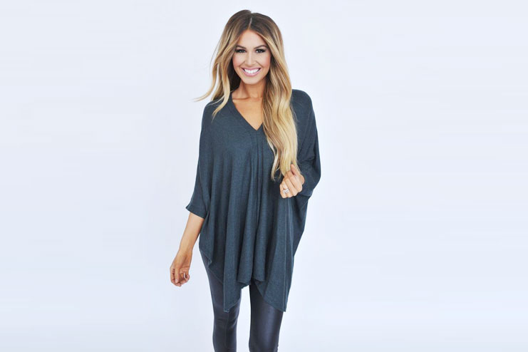 Tunic Sweater With Legging