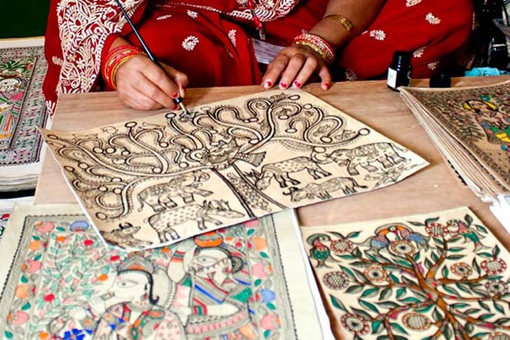 History Of Madhubani Paintings