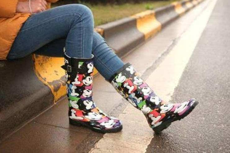 Funky Monsoon Boots