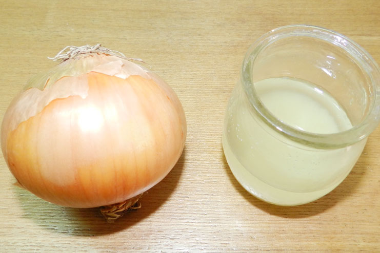 Onion Juice Scalp-Soaking Solution