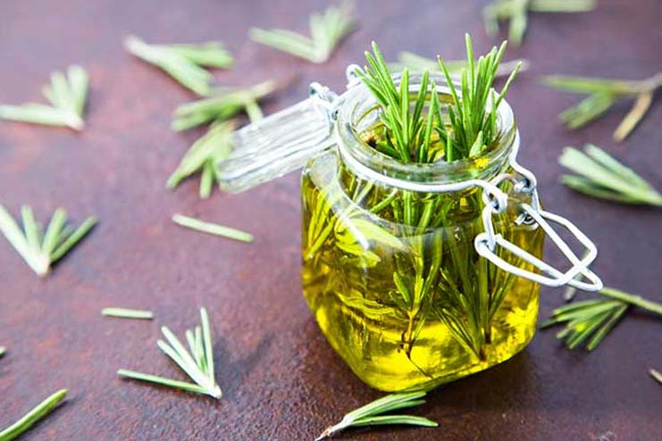 Hair Growth Oil with Rosemary