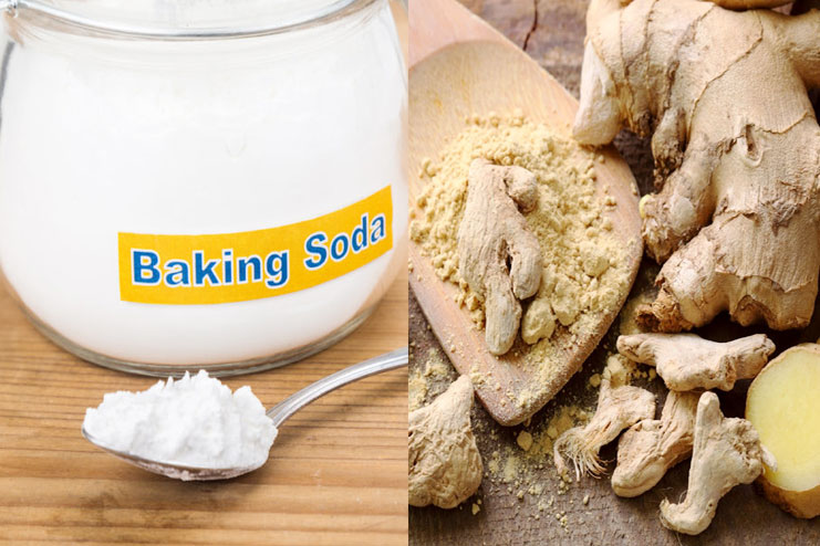 Baking Soda and Ginger Drink