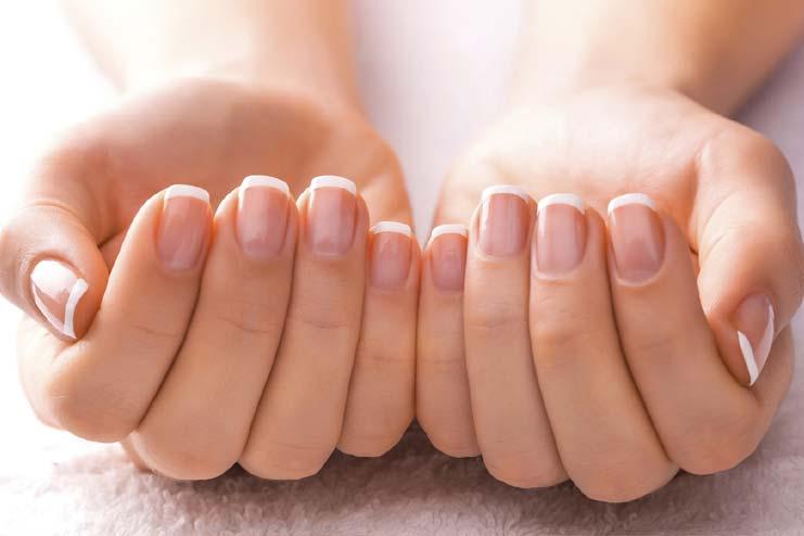 Heals Dry Fingernails