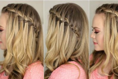 How To Have A Gorgeous Waterfall Braid