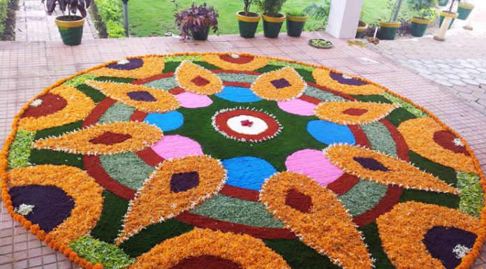 Flower Rangoli Designs to Mesmerize You