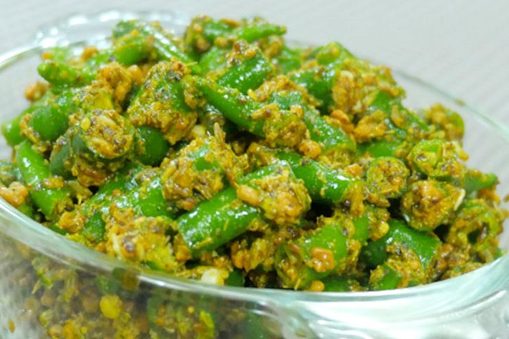 Green chillies improve vision