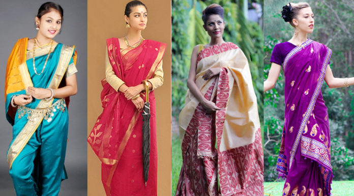 Different Types Of Saree Draping Styles In India