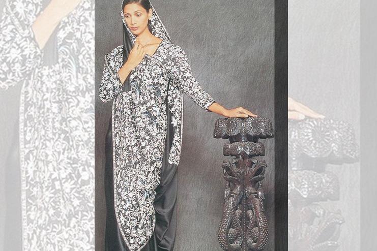 Gol sari (Parsi drape)