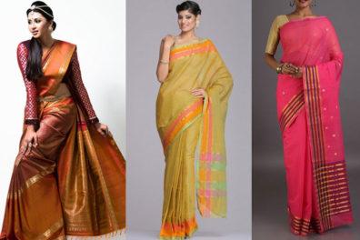 Simple And Elegant Venkatagiri Saree