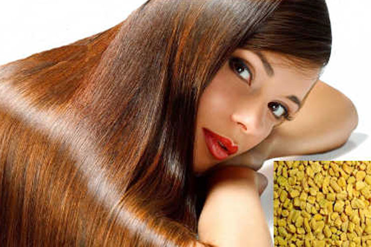 Eating methi for hair benefits