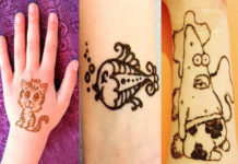 mehndi deign for kids