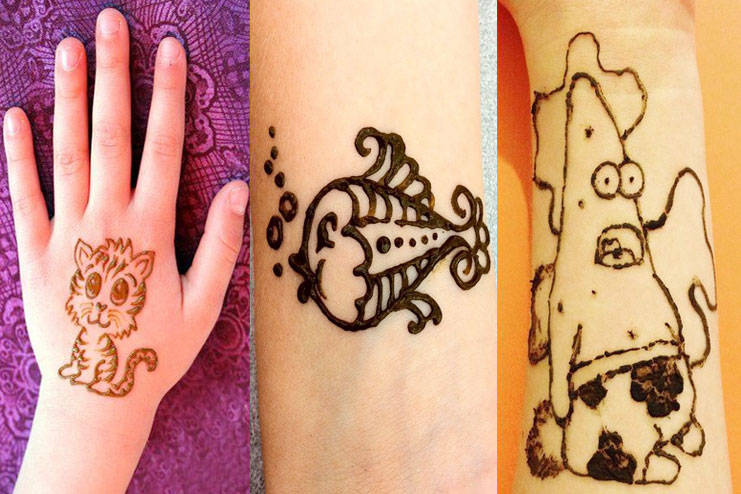 Cute Henna Designs: Quick And Easy Henna Designs For Kids They Wil Absolutely Love