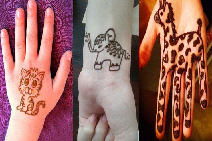 Animal Henna Design