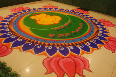 Top Trending Ganpati Rangoli Designs For All the Festivals