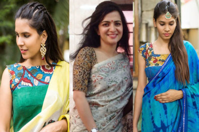15 Ultimate Kalamkari Blouse Designs Trending this Season