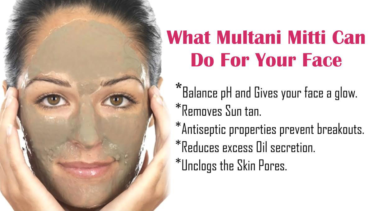 Multani Mitti Face Packs