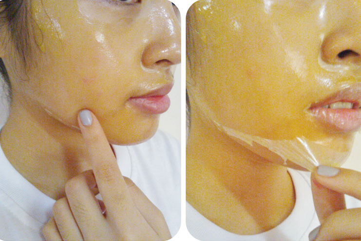 Orange peel face Mask