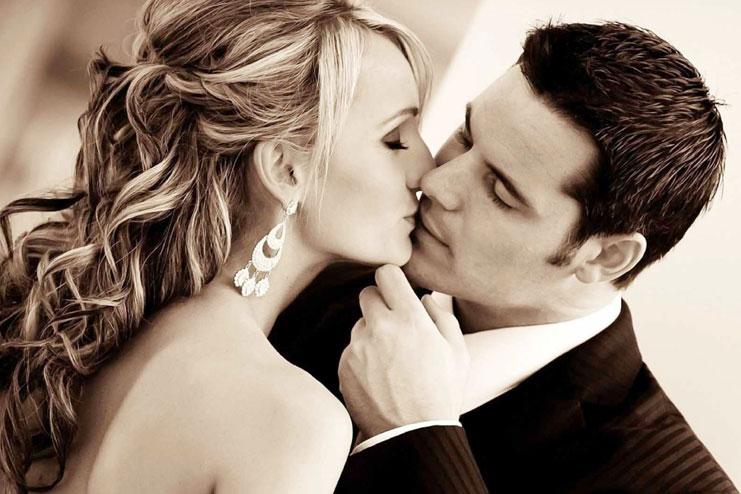 The lip kiss