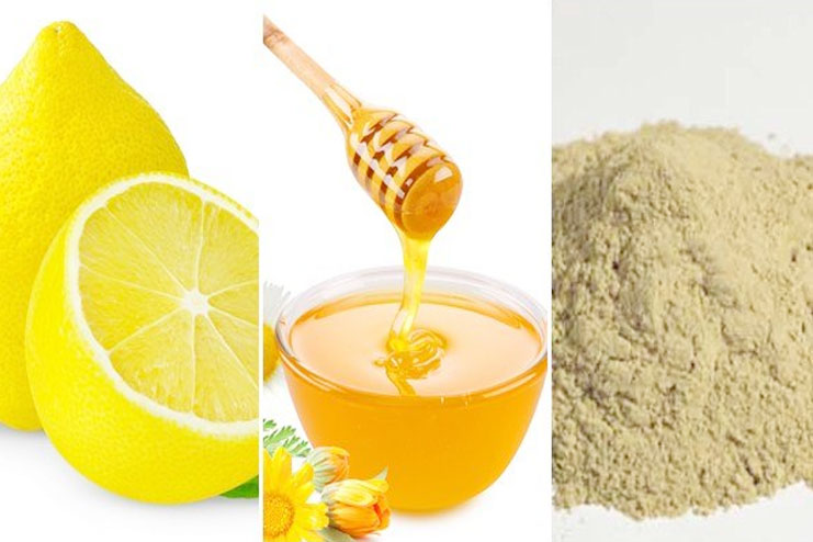 Multani mitti with honey for glowing Skin