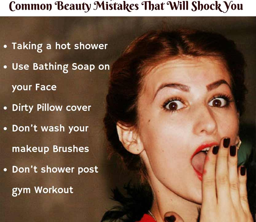 Beauty Mistakes