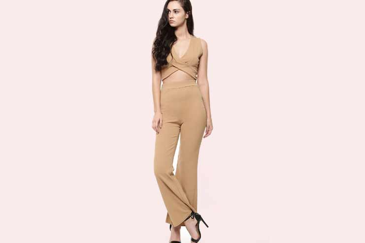 Co-ordinated Flared Pant Set